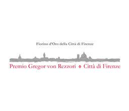 Premio Gregor von Rezzori – Città di Firenze
